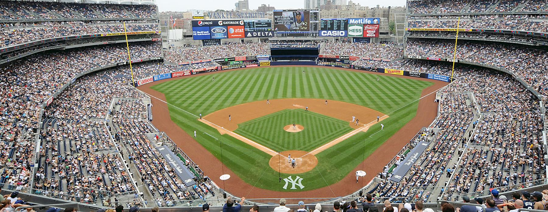 Mlb American League Background Yankee Stadium Panorama